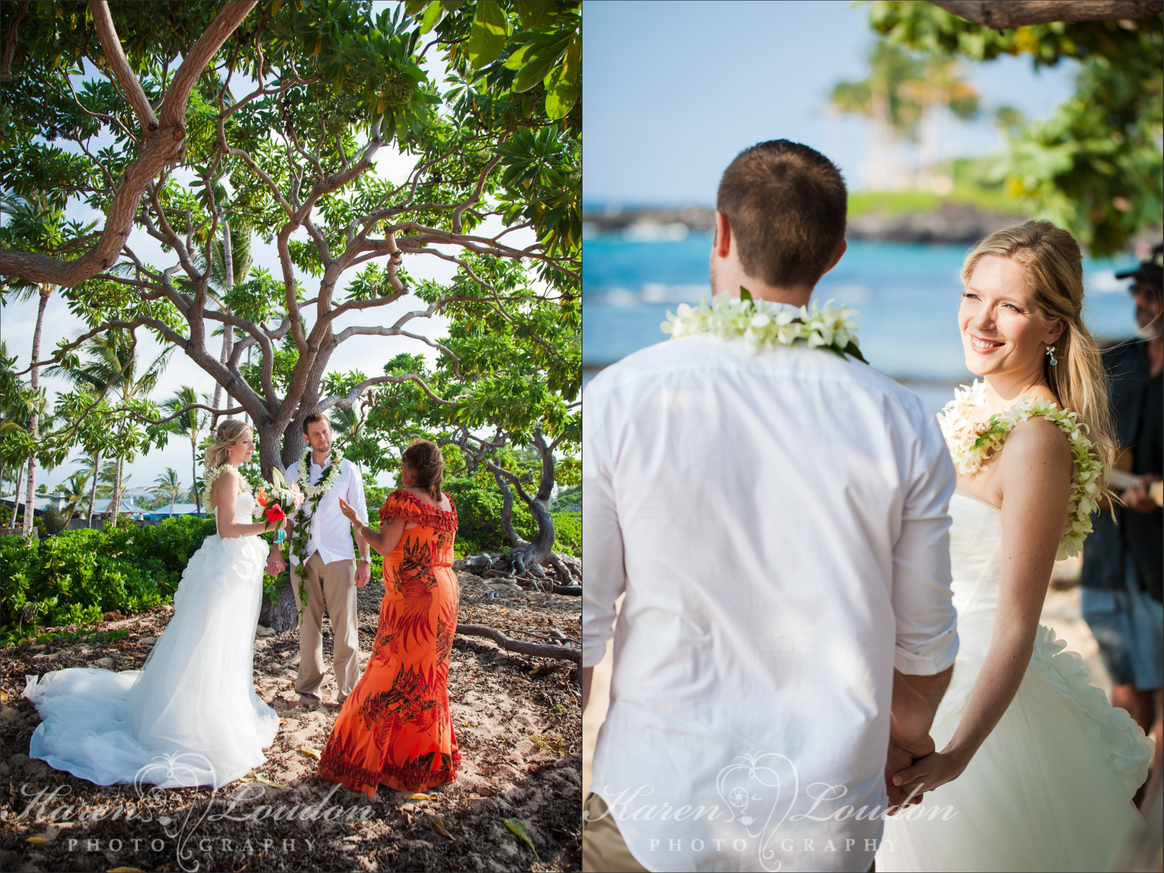Kukio Beach Wedding Ceremony Photographer