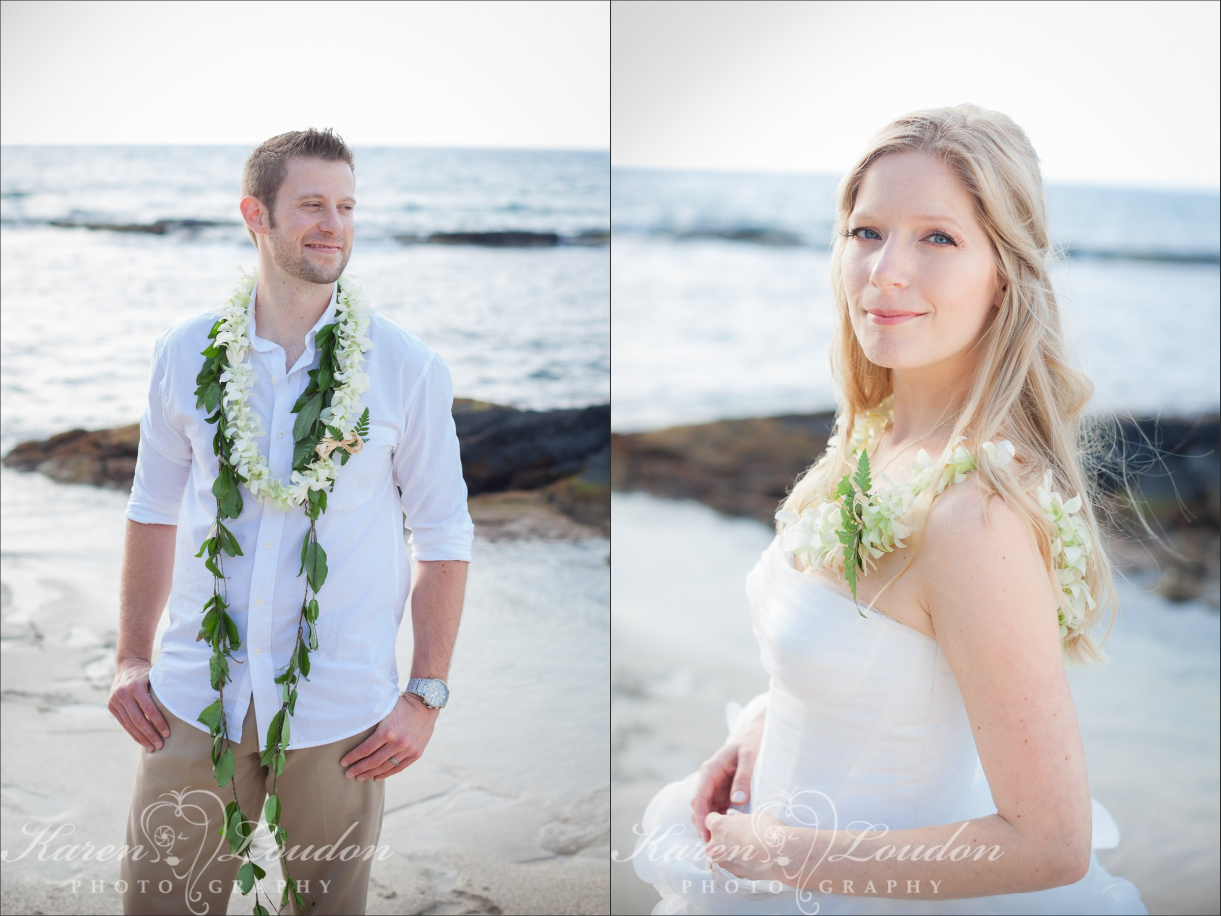 Wedding Photography Kukio Bay Big Island Hawaii