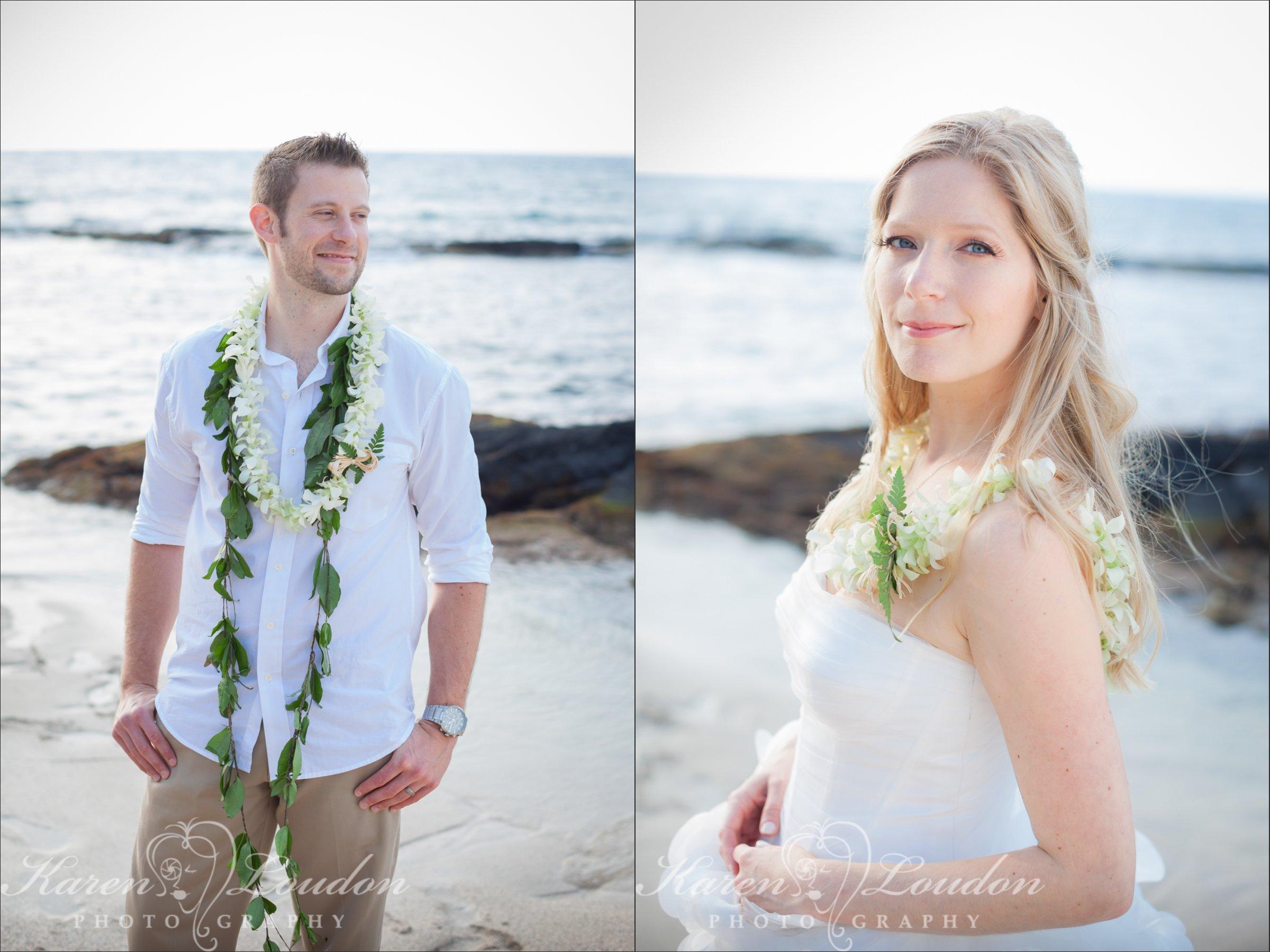 Wedding Photography Kukio Bay Big Island Hawaii