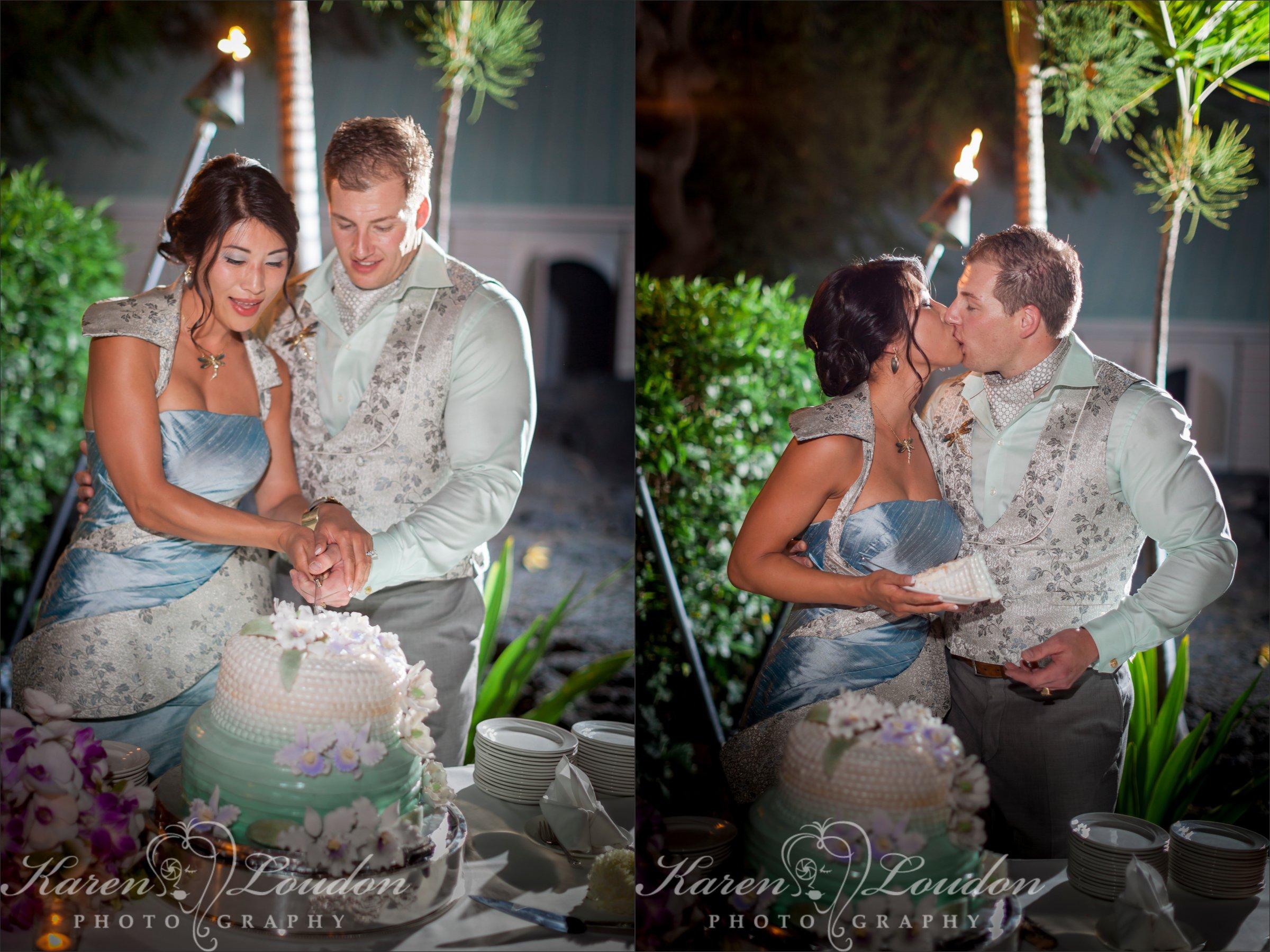 Kailua-Kona wedding cake