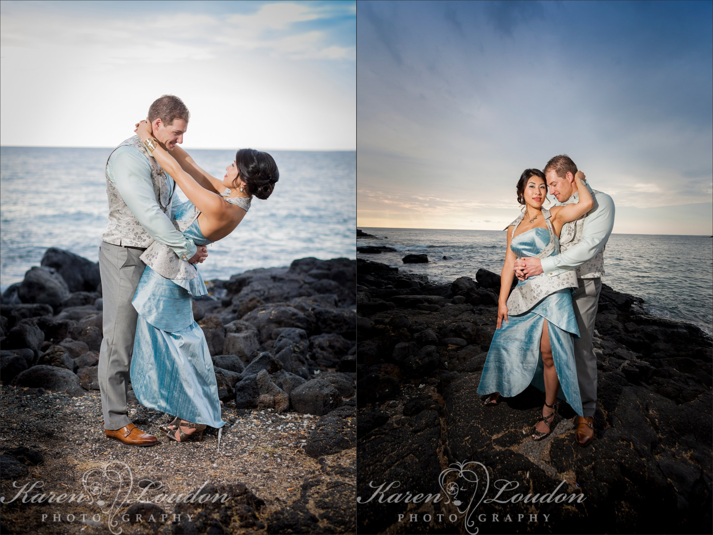 Big Island Hawaii Wedding Ocean Photographer