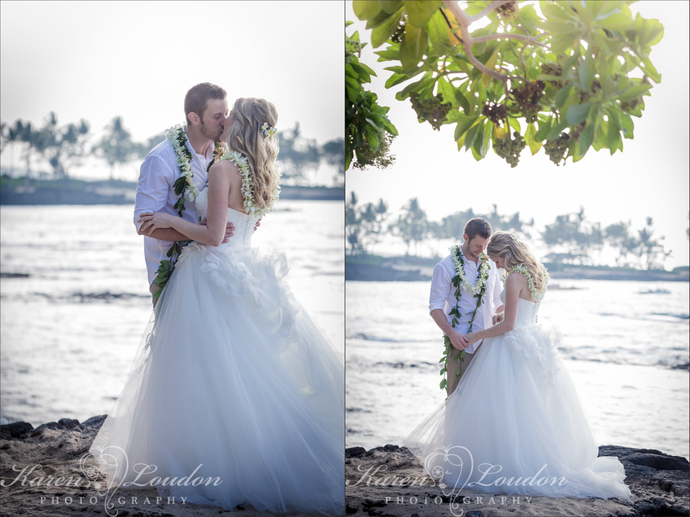 Big Island Wedding Kailua Kona Beach Photography