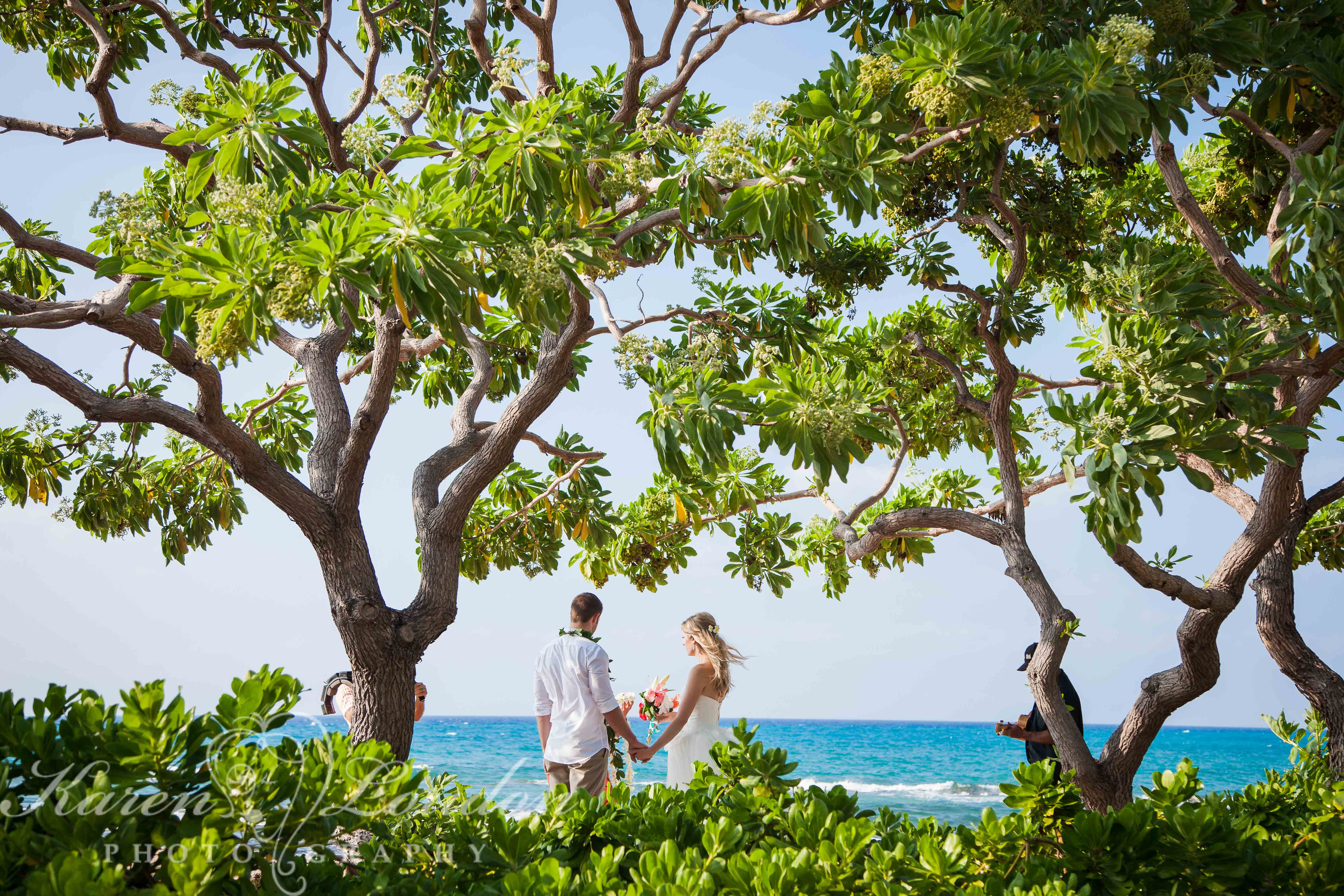 Kikaua Point Big Island Wedding Photography