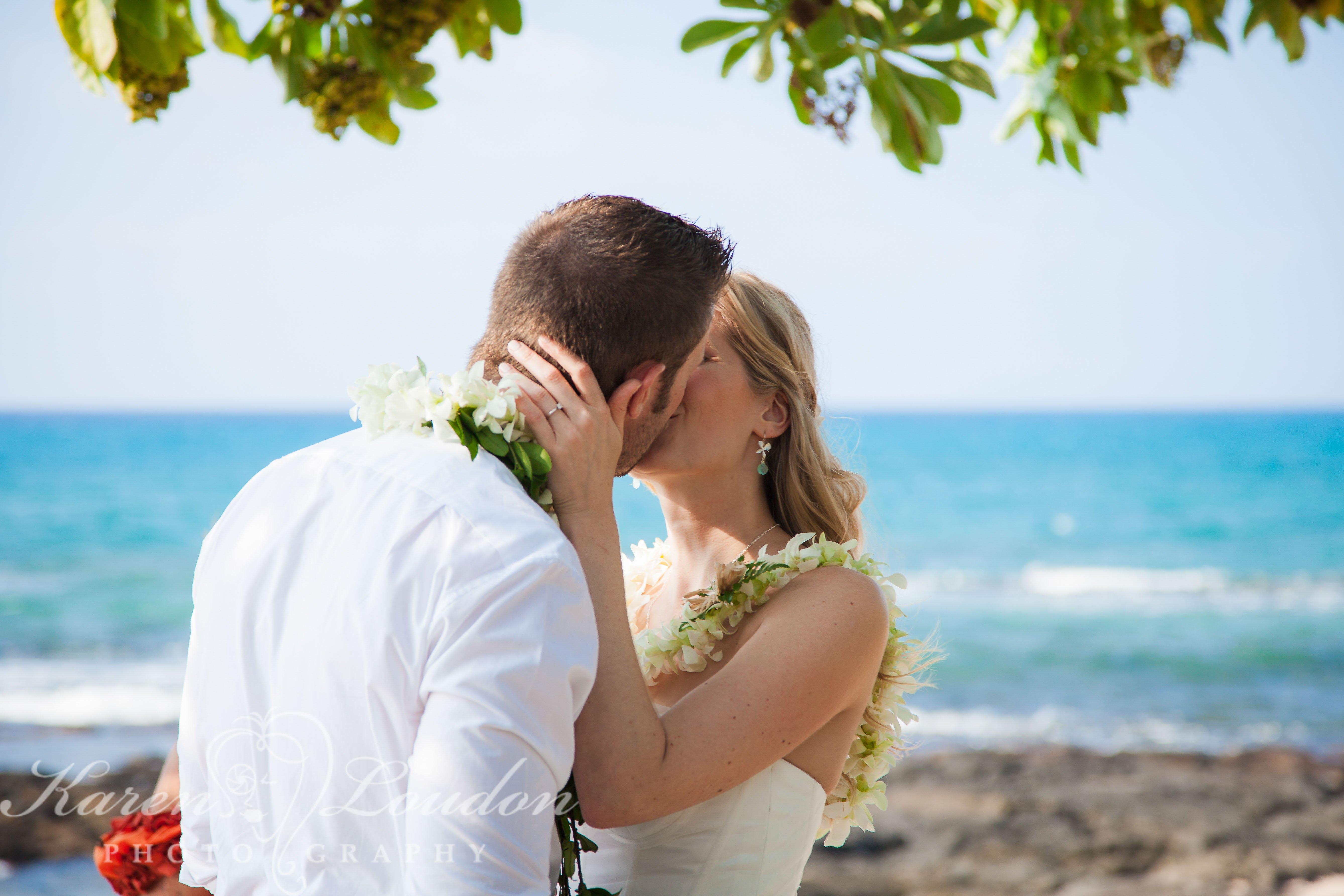 Kukio Beach Wedding Kailua Kona Hawaii Photography