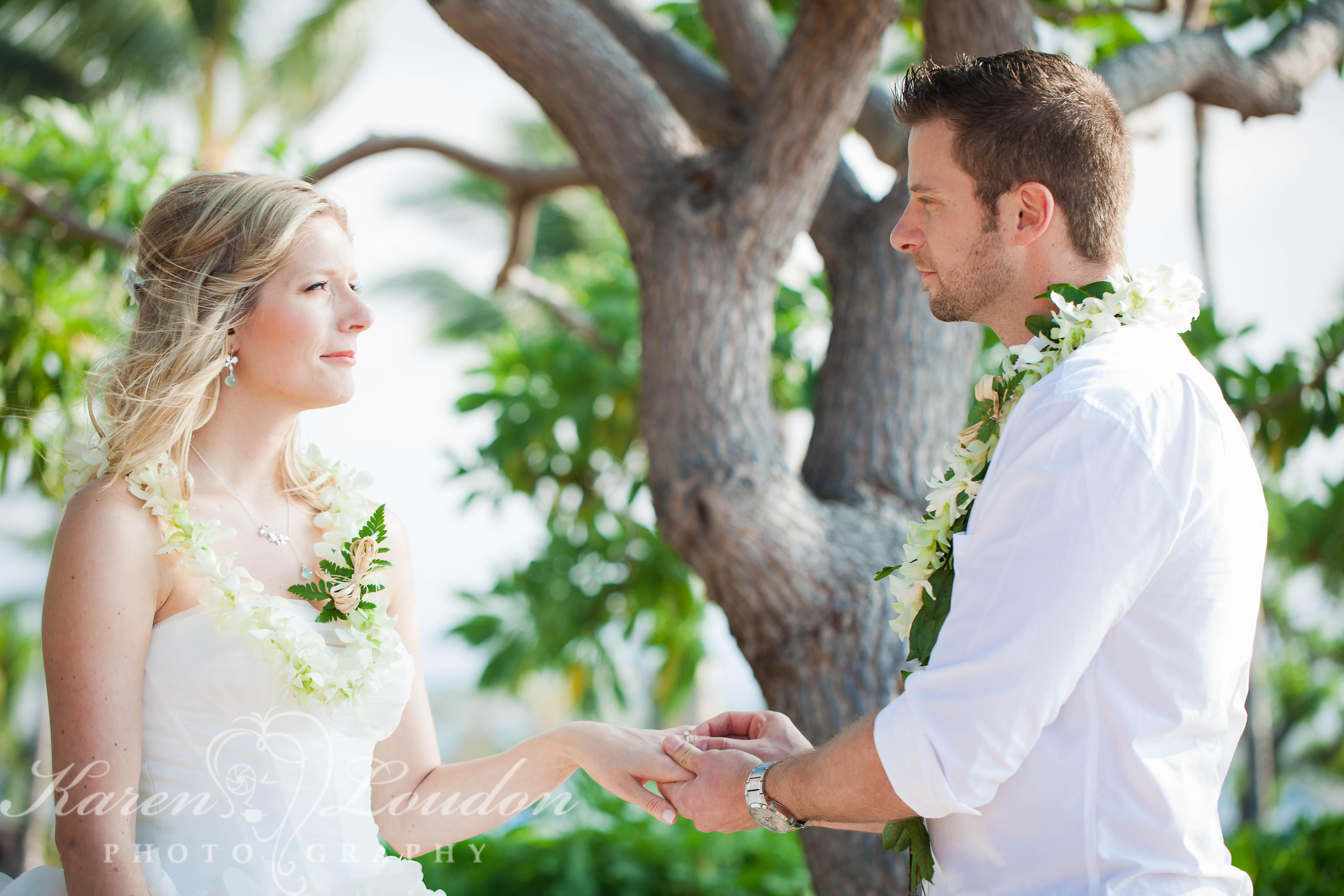 Kikaua Point Park Kailua Kona Hawaii Wedding