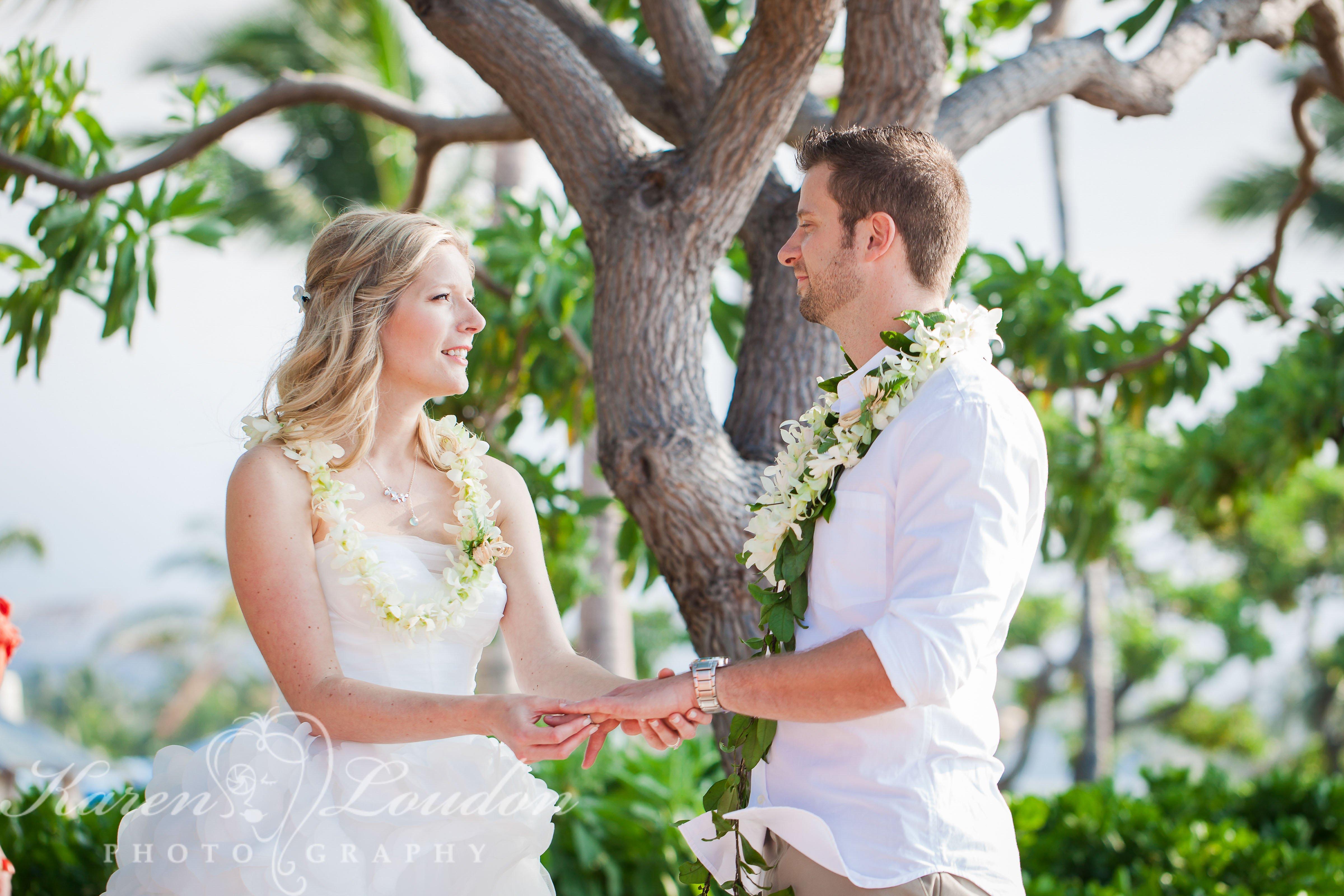 Kukio Beach Kailua Kona Hawaii Wedding