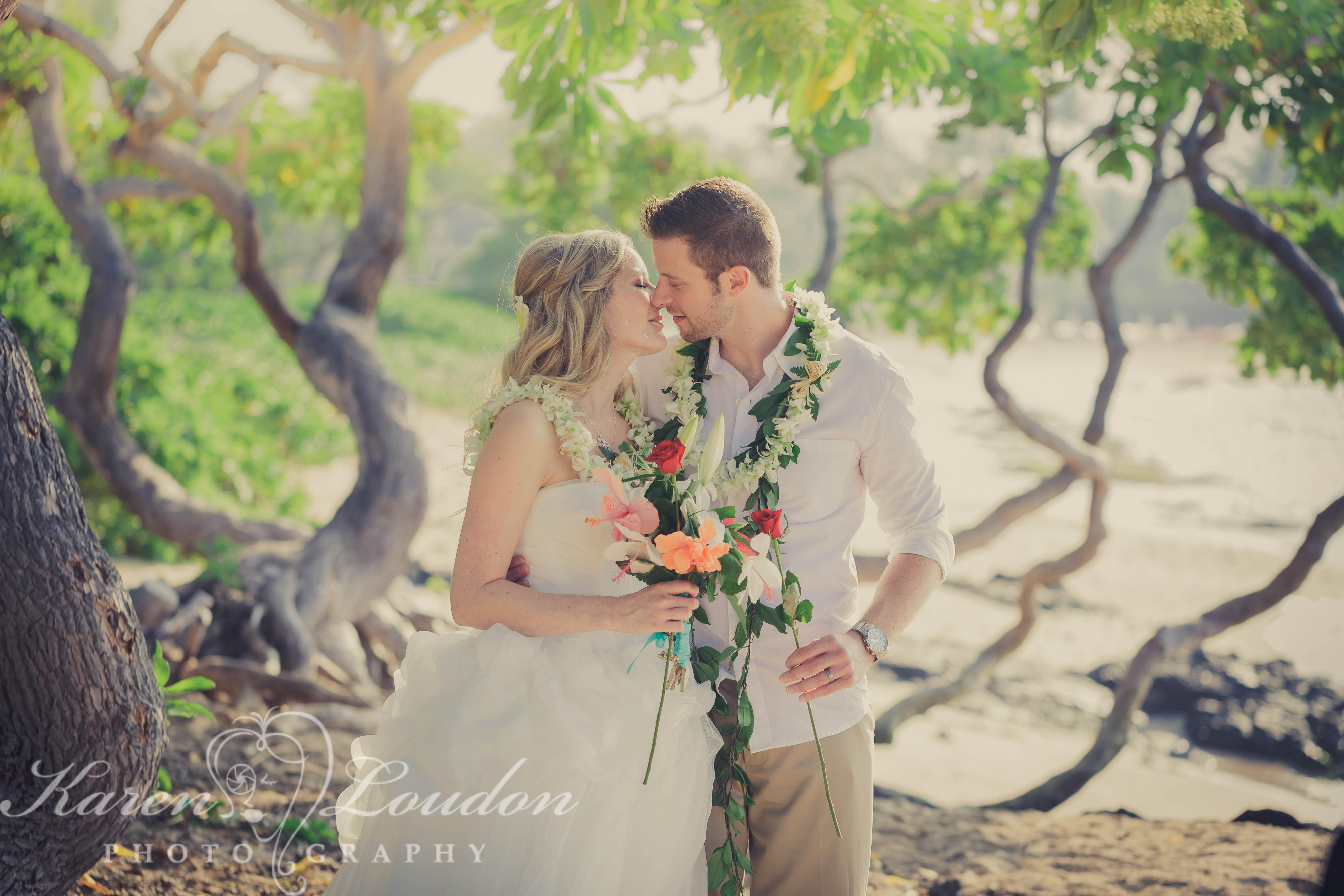 Kailua Kona Hawaii Big Island Wedding