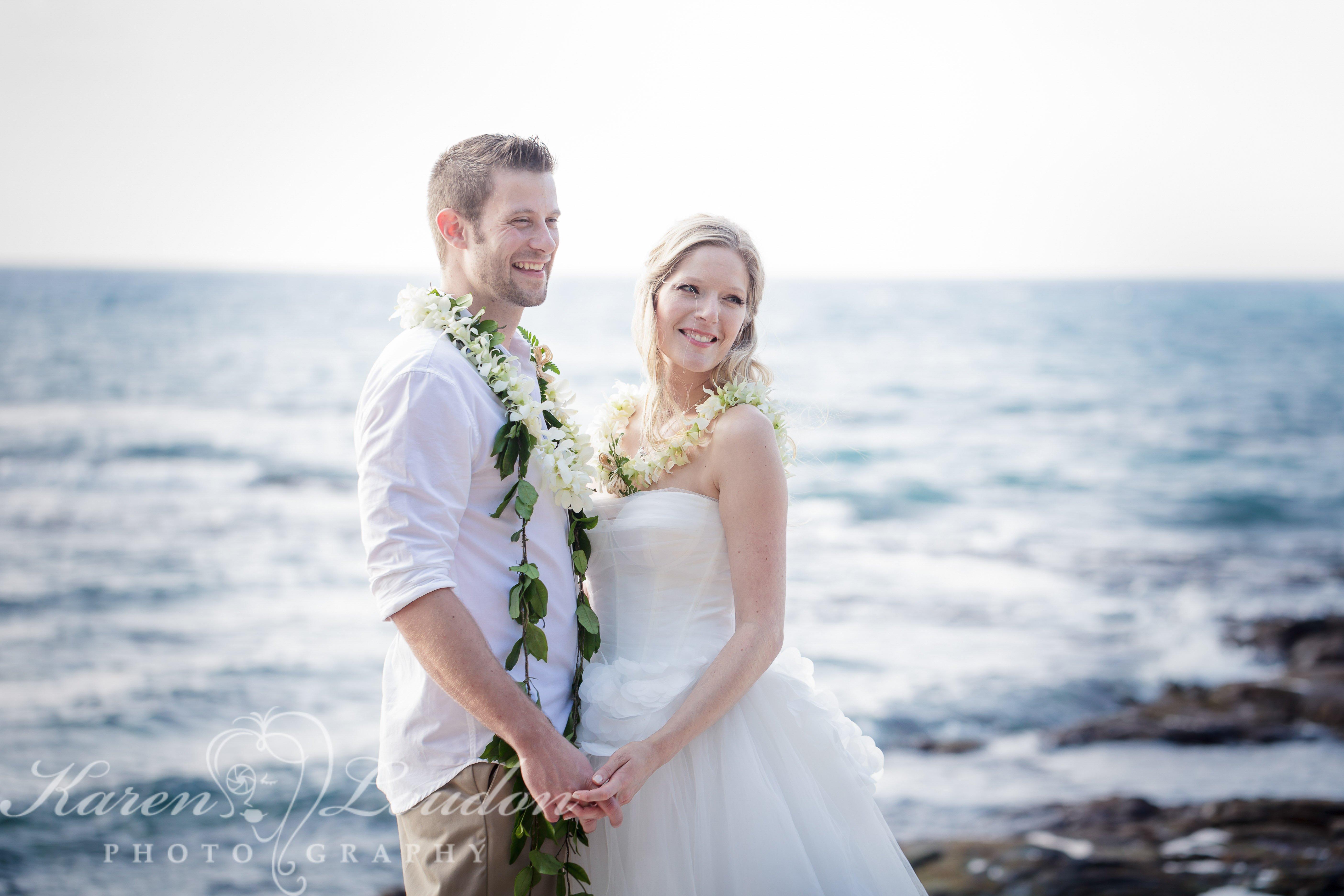 Kona Hawaii Beach Wedding Four Seasons