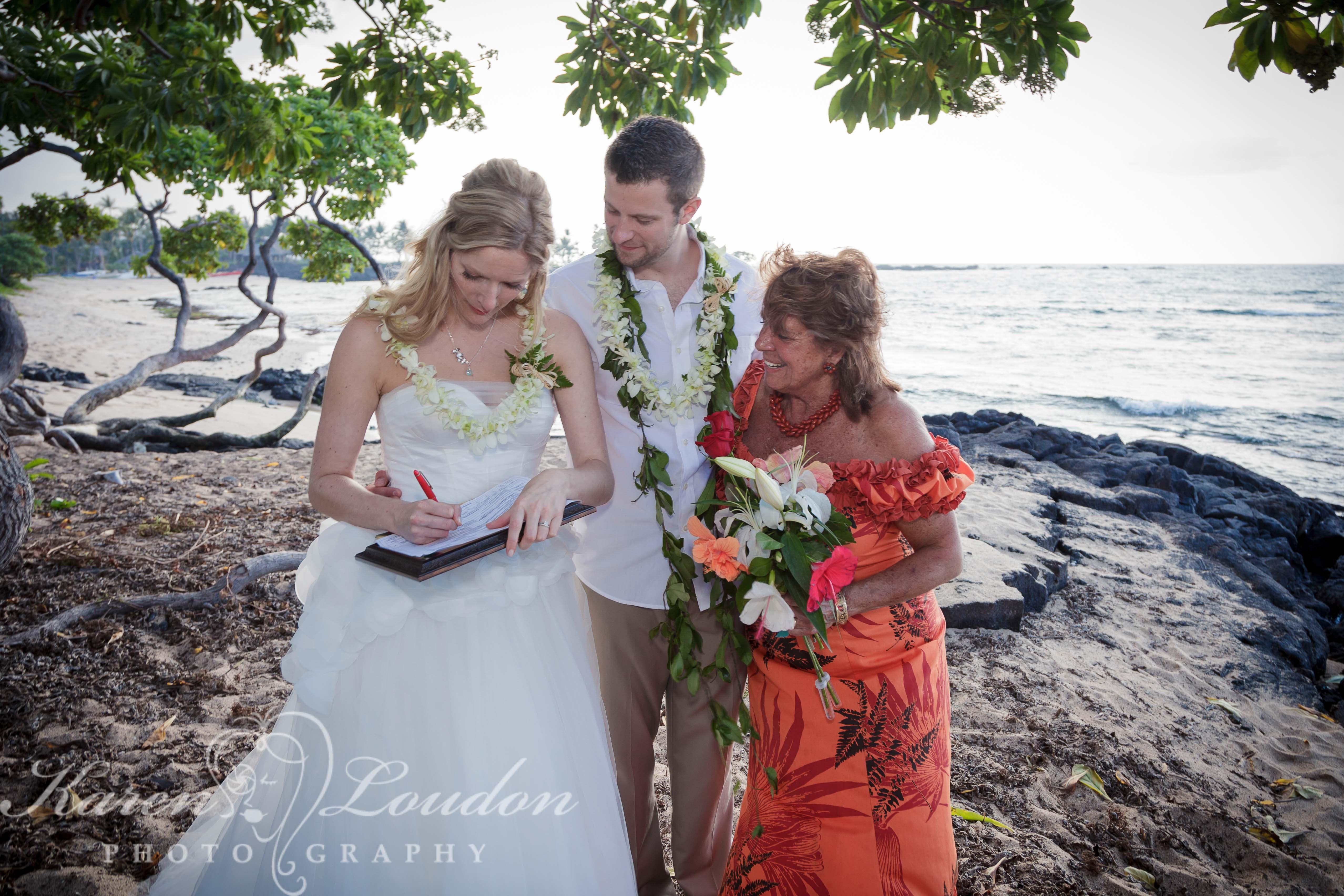Four Seasons Hualalai Beach Wedding Photography