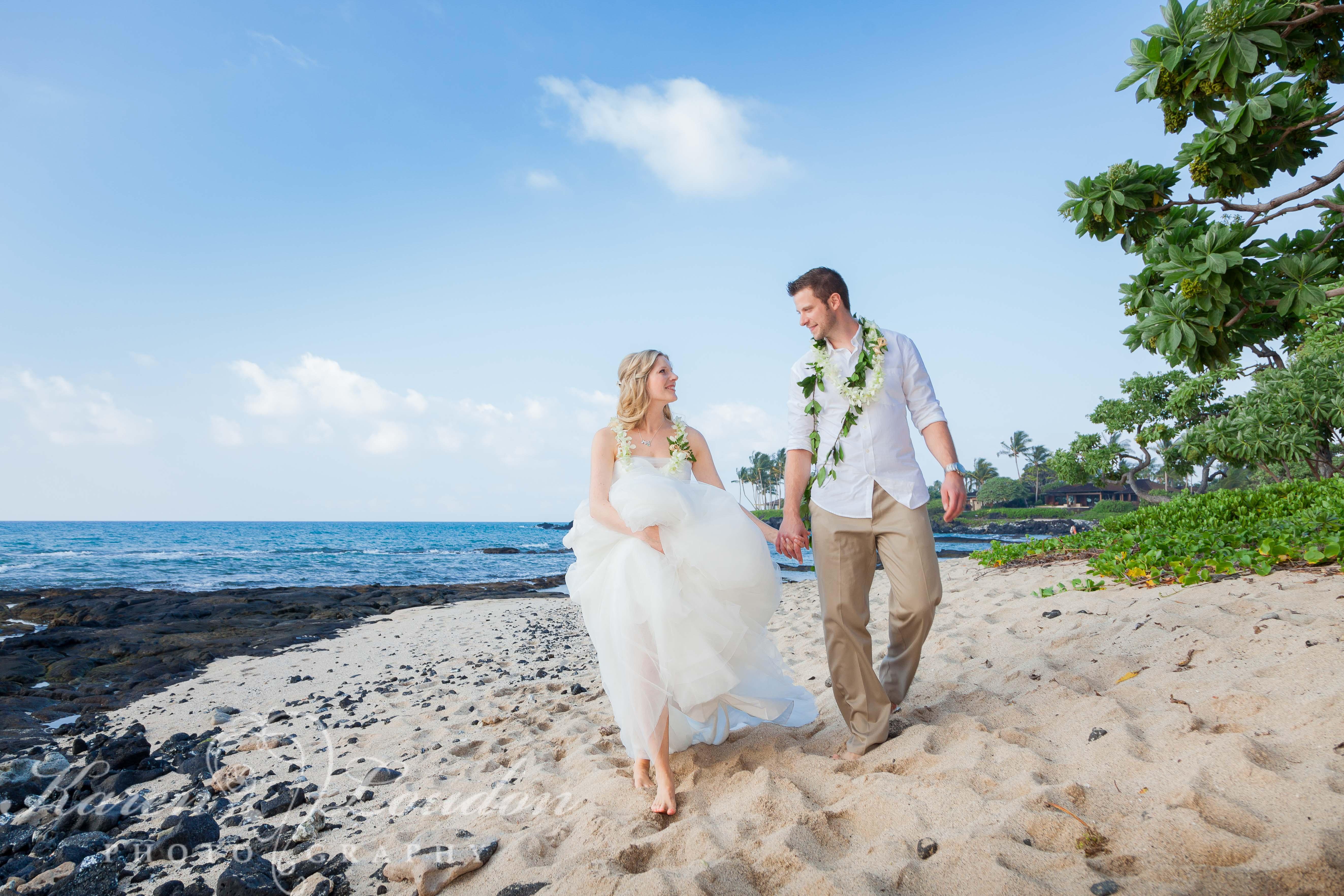 Kailua Kona Hawaii Big Island Wedding Photography Kukio Beach