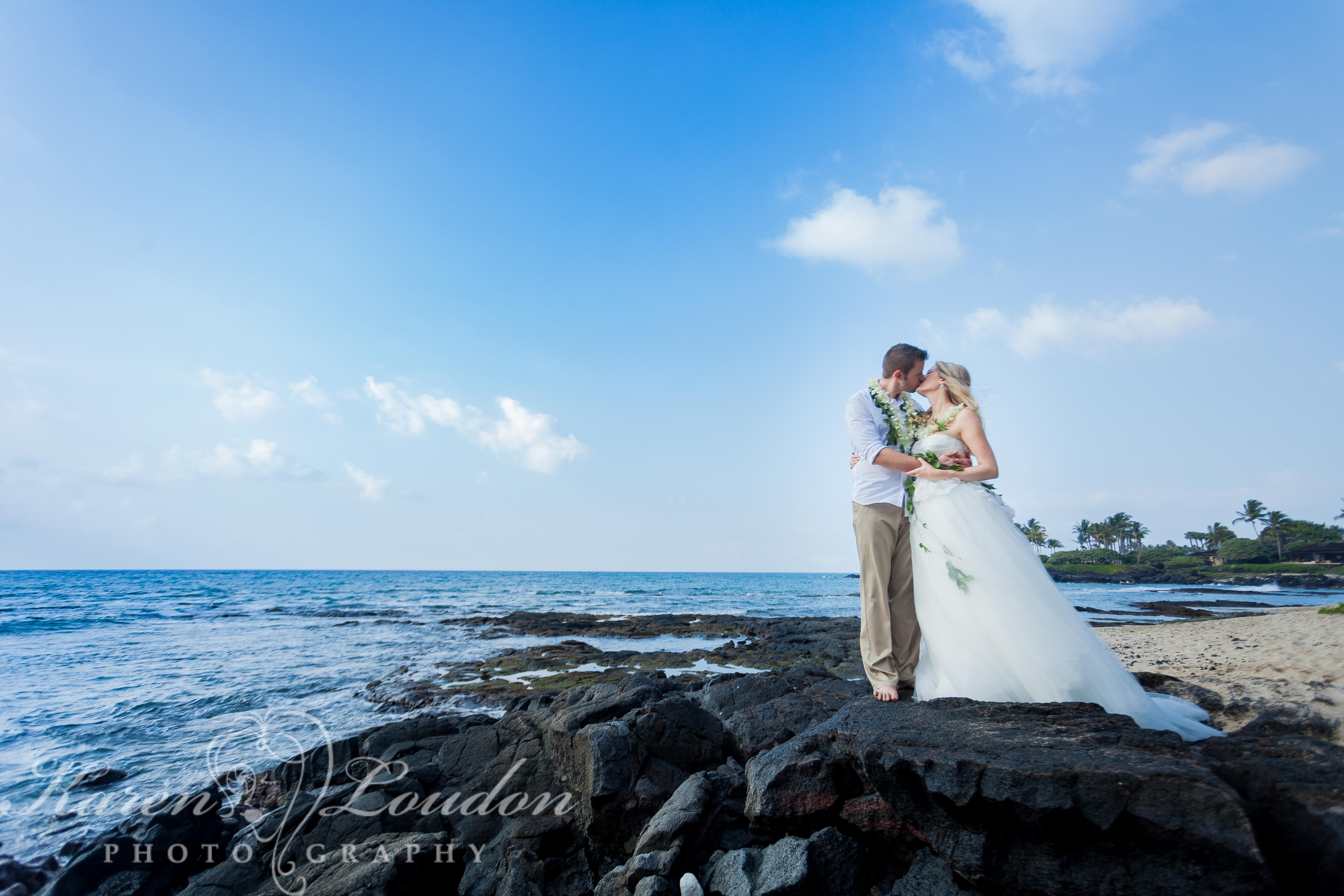 Kailua Kona Hawaii Big Island Wedding Photographer Kukio Beach