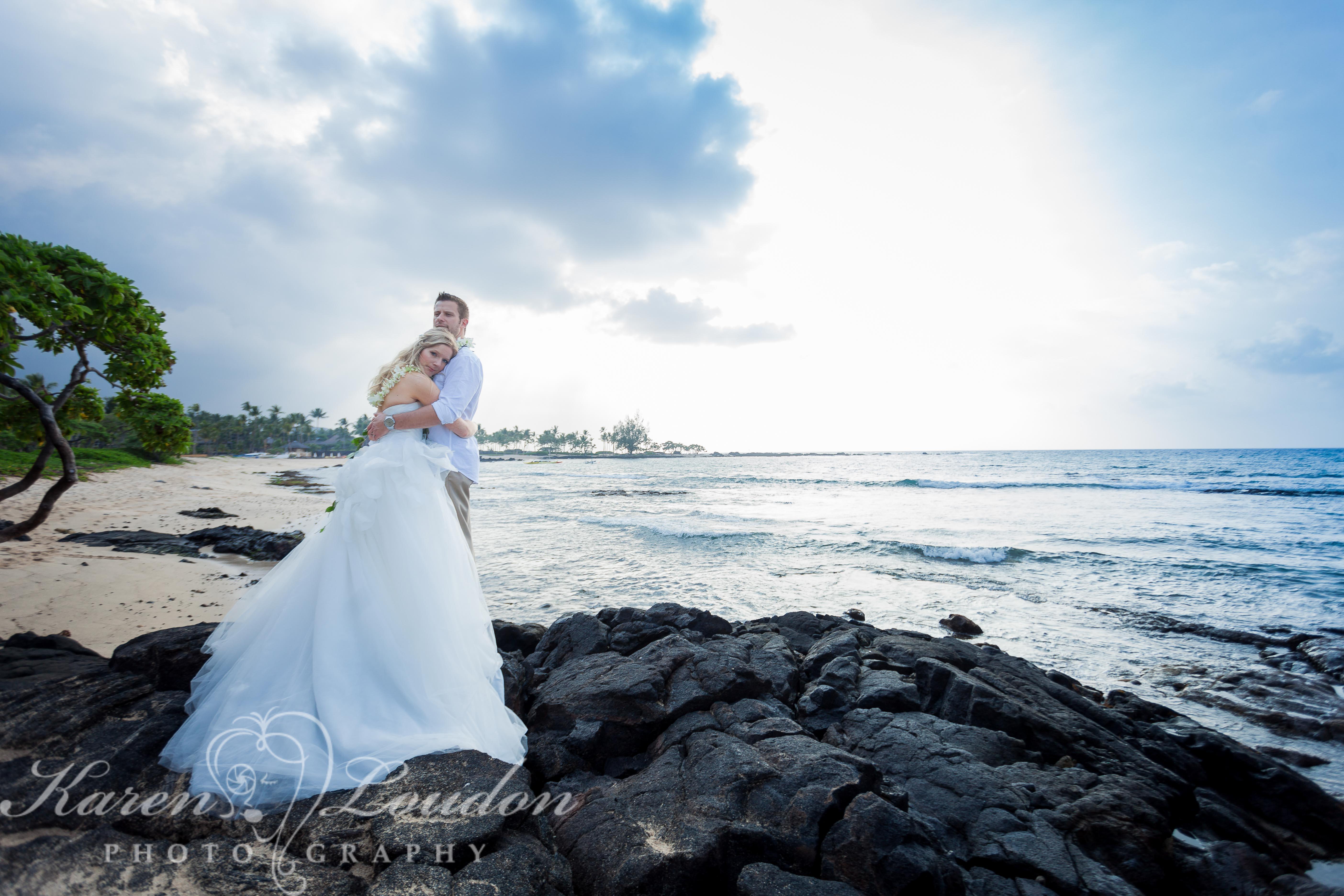 Big Island Wedding Photography Hawaii Kukio Bay