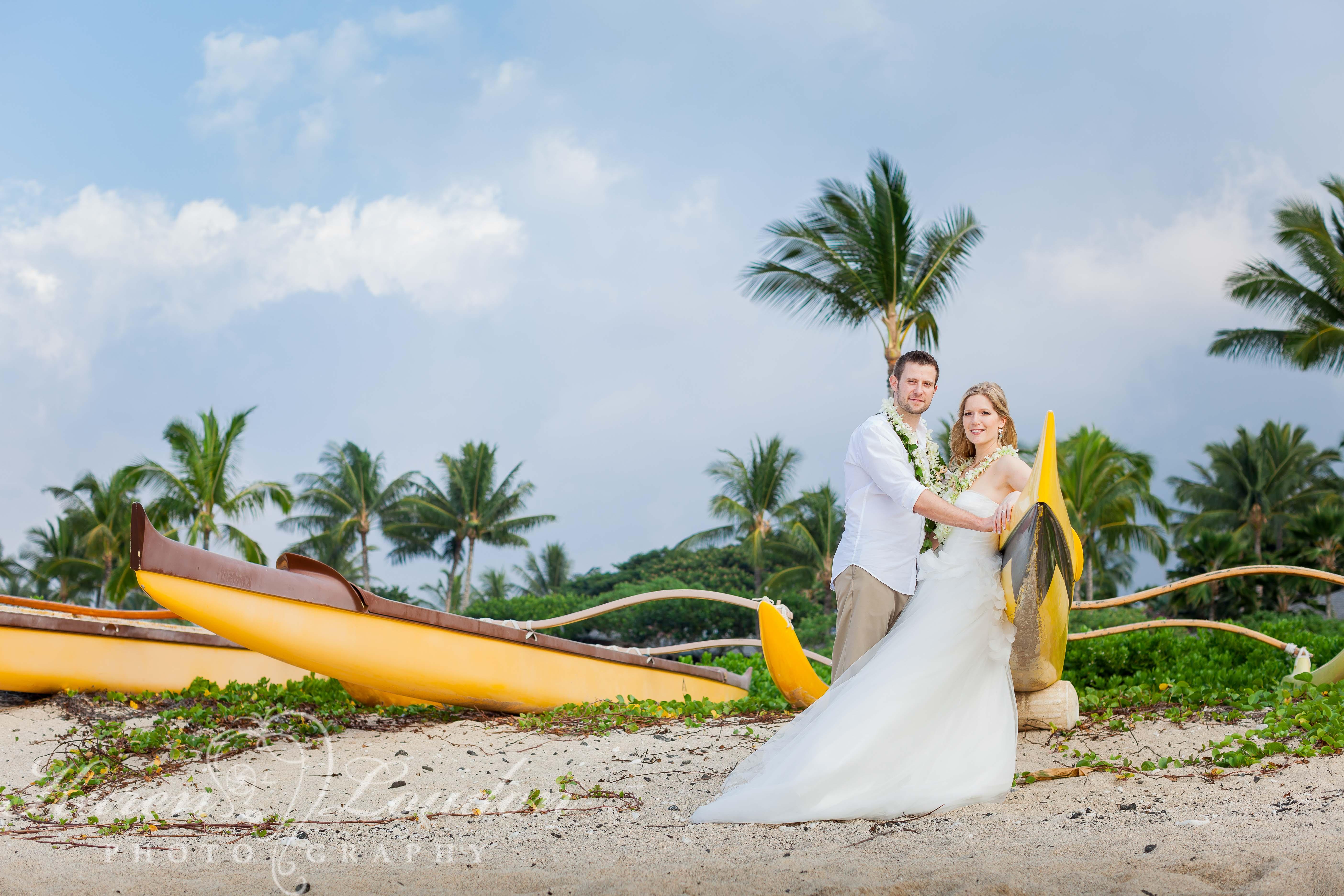 Kukio Bay Wedding Big Island Hawaii