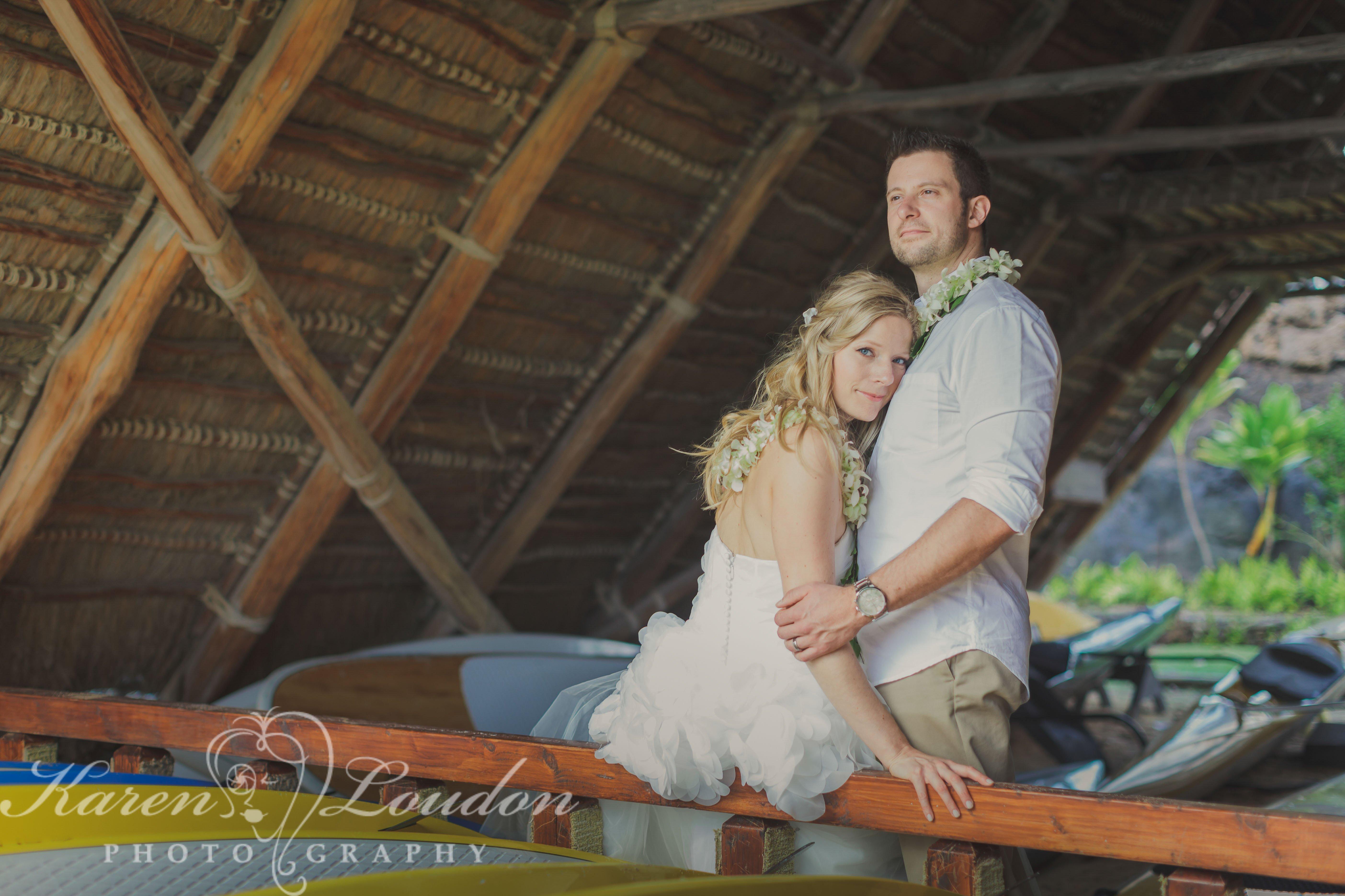 kona hawaii kukio beach wedding photography