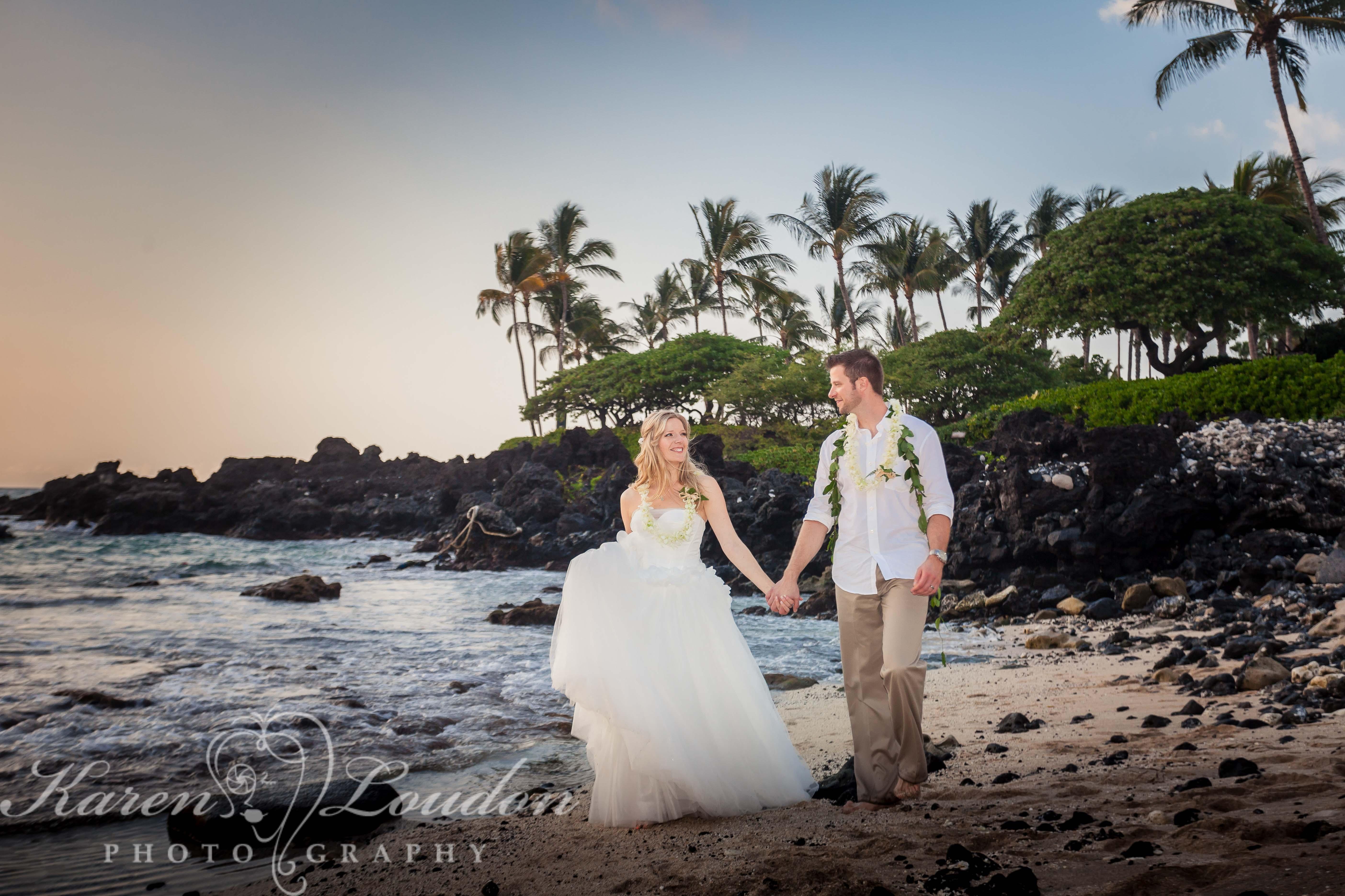 Kailua Kona Big Island Photography Wedding Kukio Beach