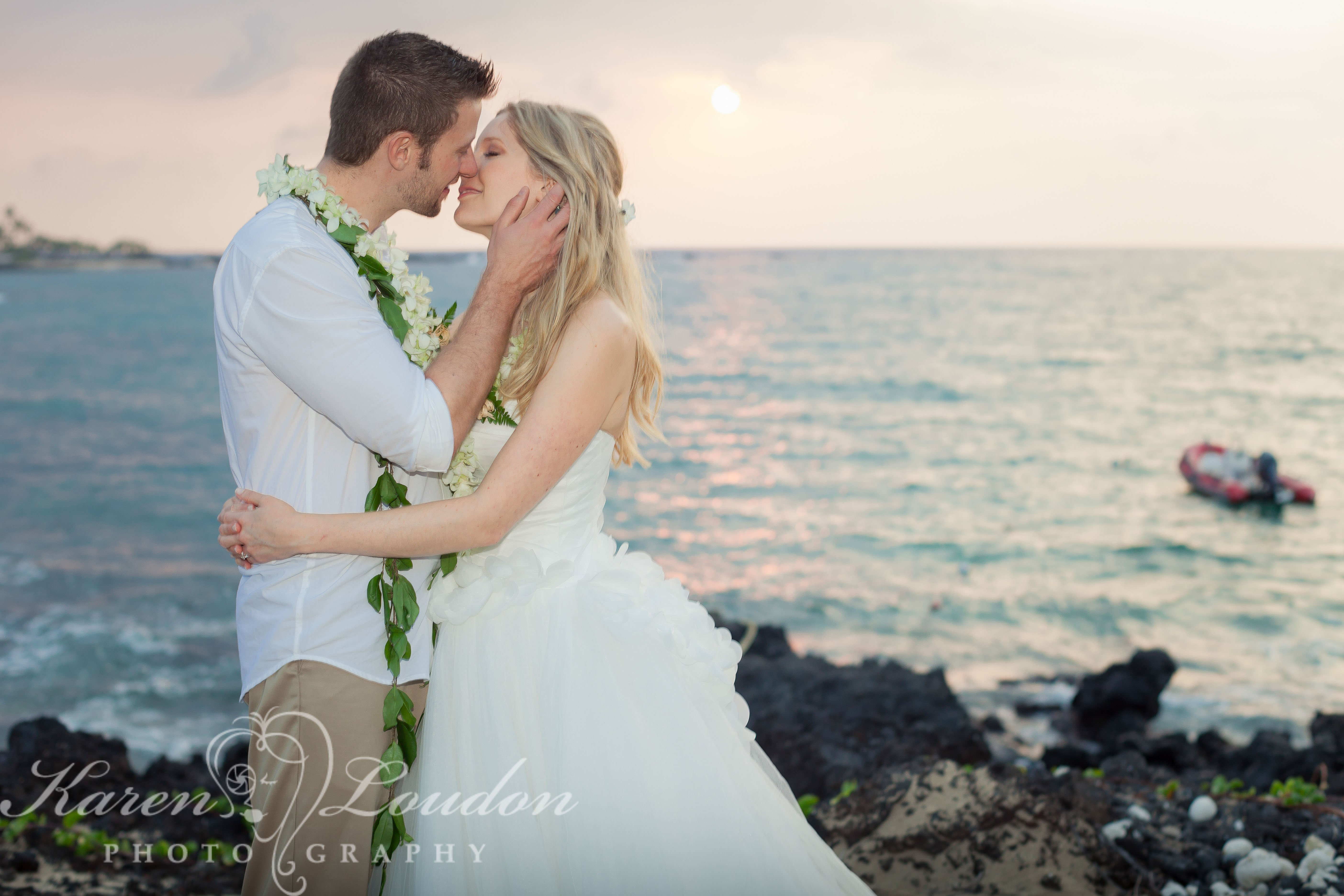 Kikaua Point Beach Wedding Photographer