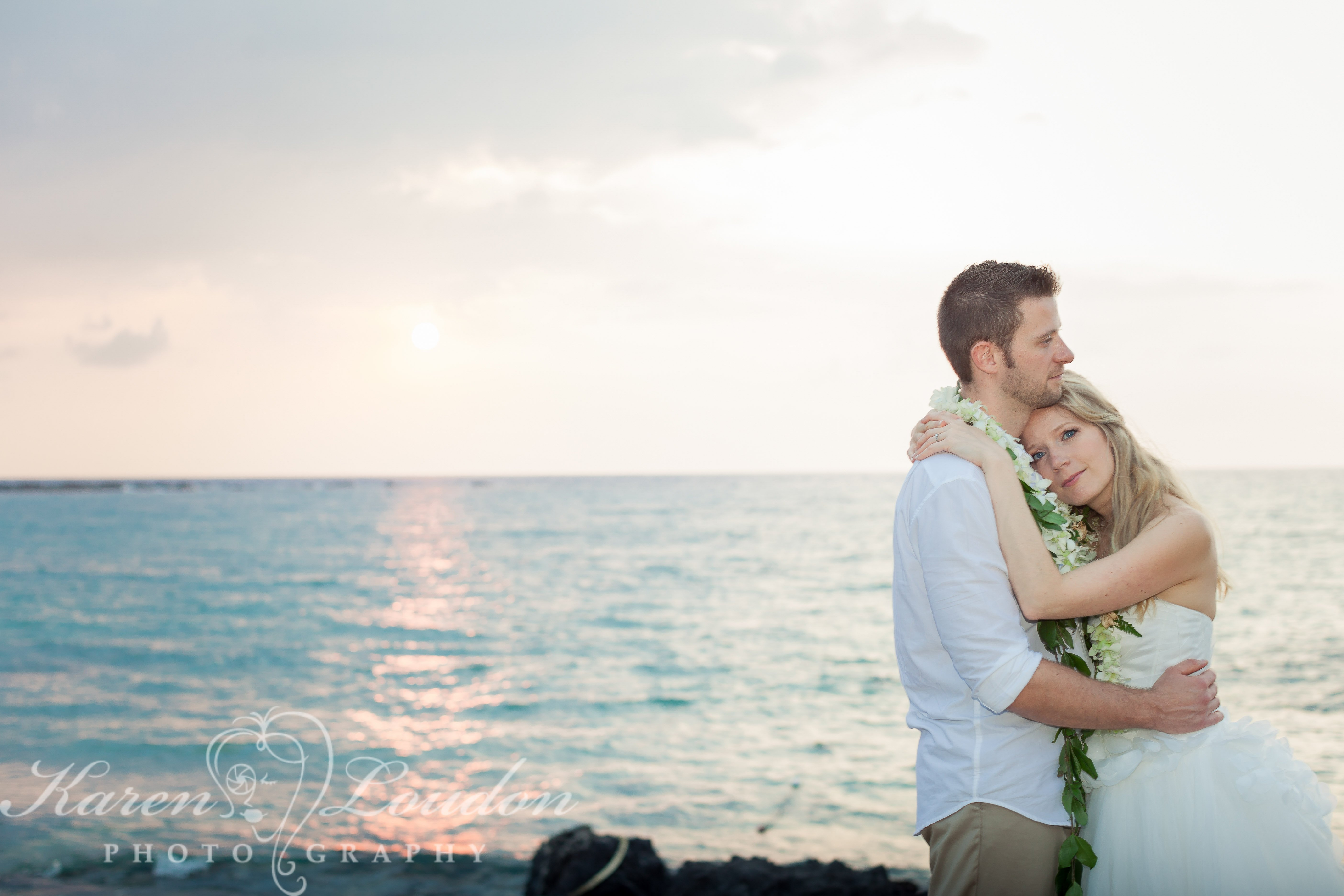 Wedding Photography Kukio Beach Hawaii