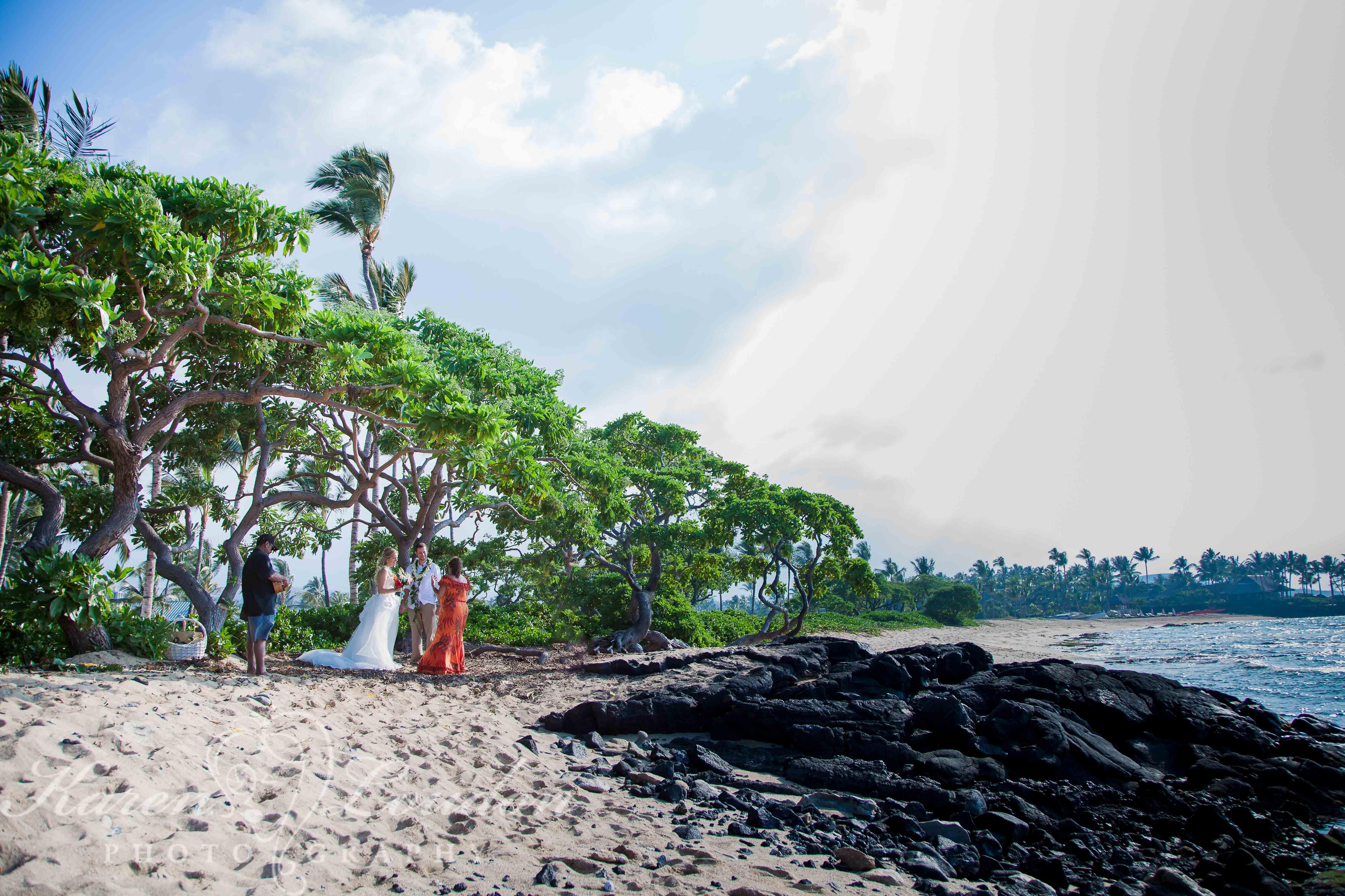 Kohala Coast Wedding Beach Photographer