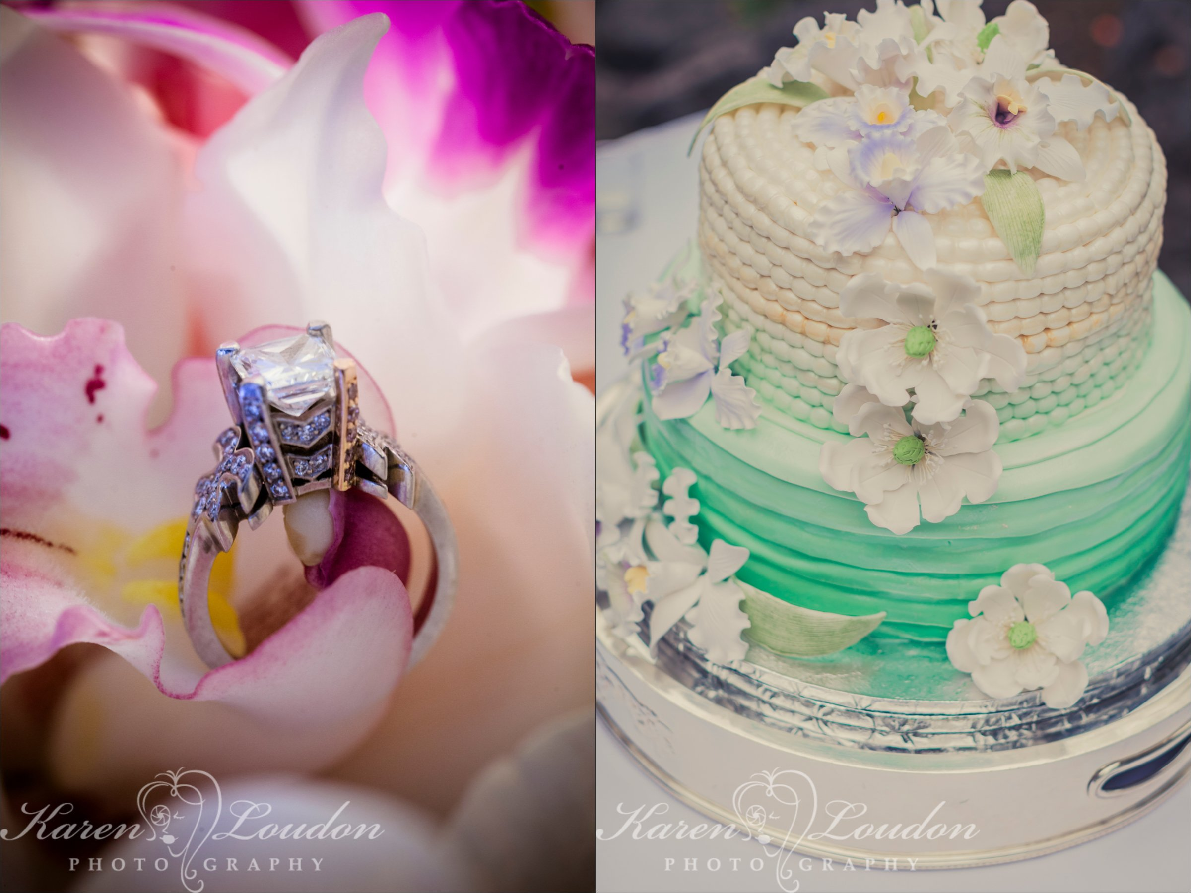 Sheraton Wedding Kailua Kona Cake Photographer