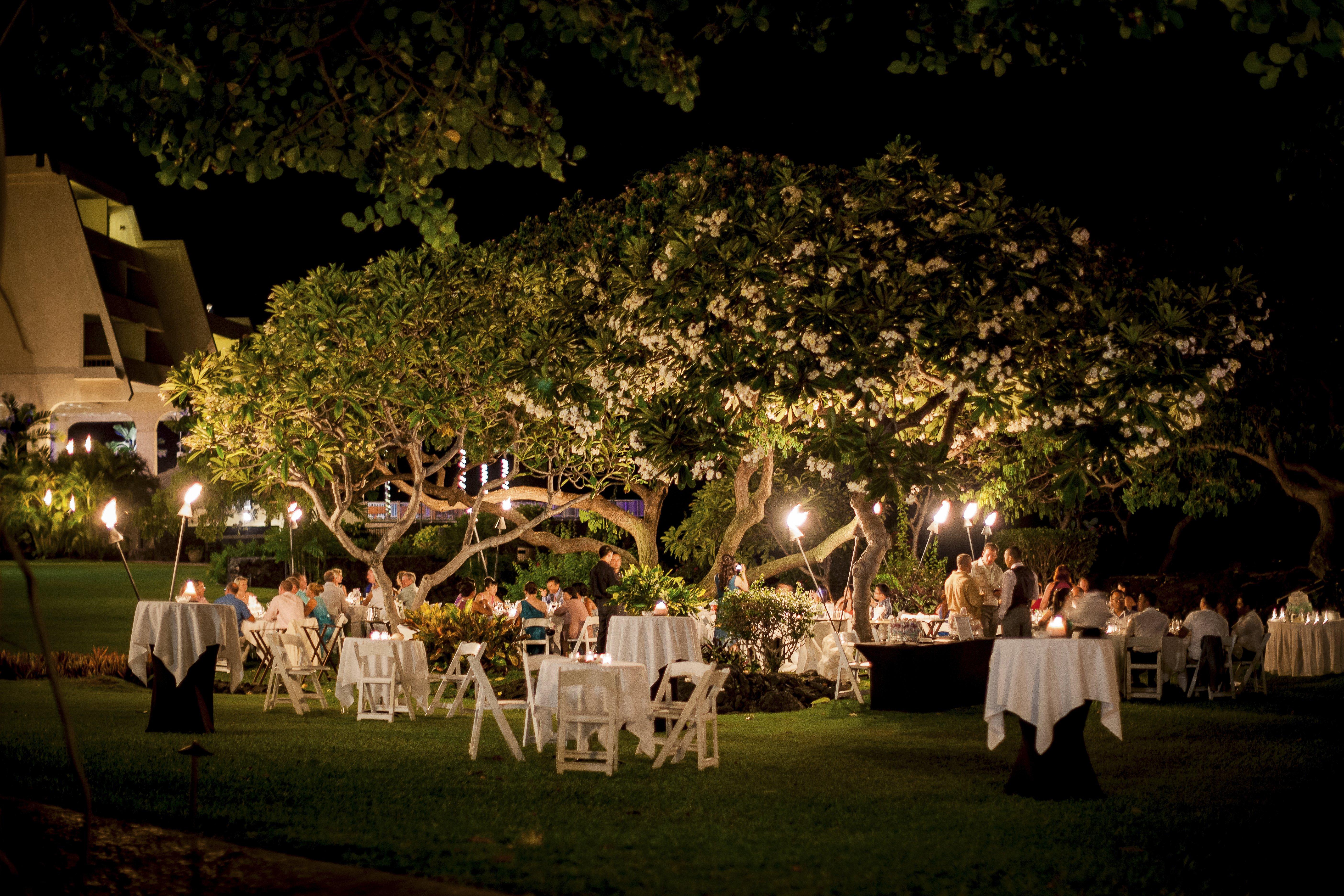 Keauhou Big Island Hawaii Wedding Reception Photography