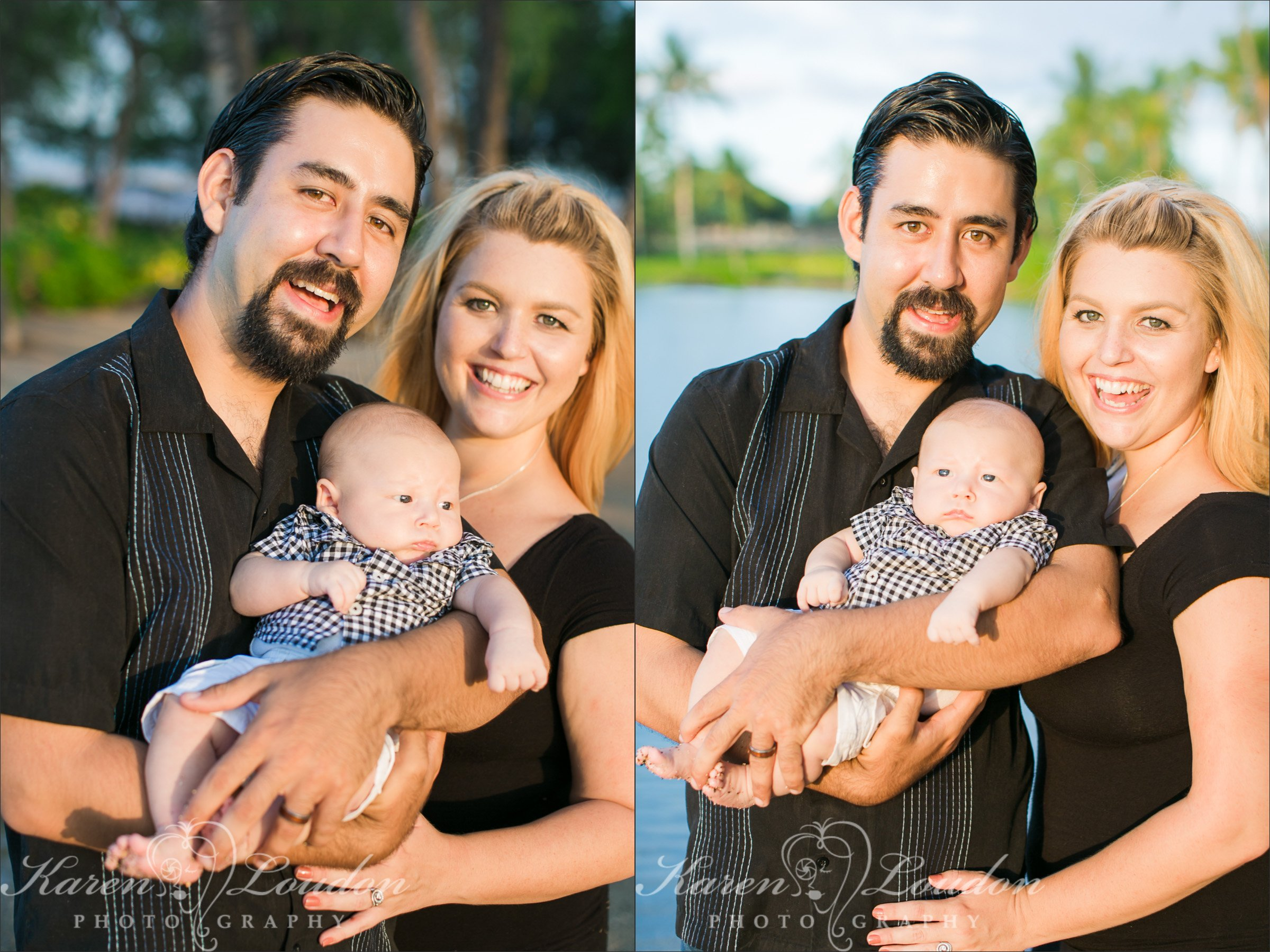 Hilton Waikoloa Family Photography