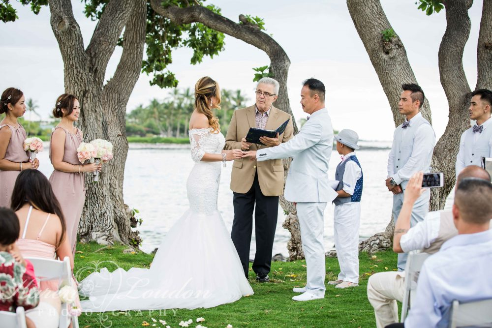 fairmont orchid ceremony