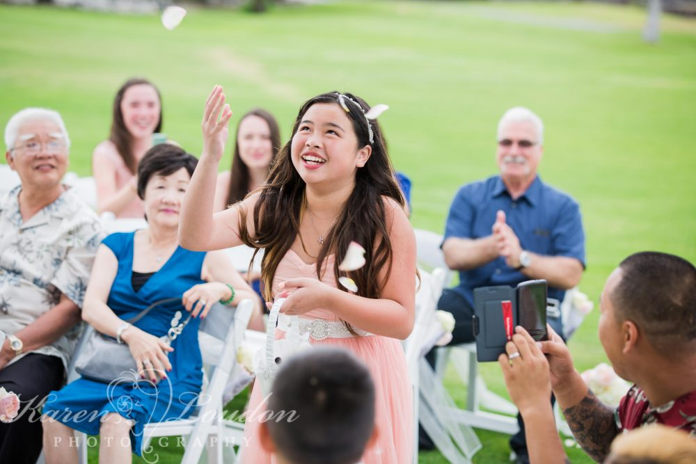 Fairmont Orchid Flower Girl
