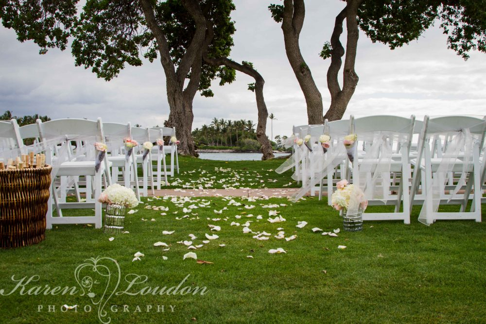 Fairmont Orchid Wedding Reception