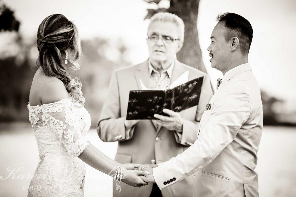 Fairmont Orchid Wedding Ceremony
