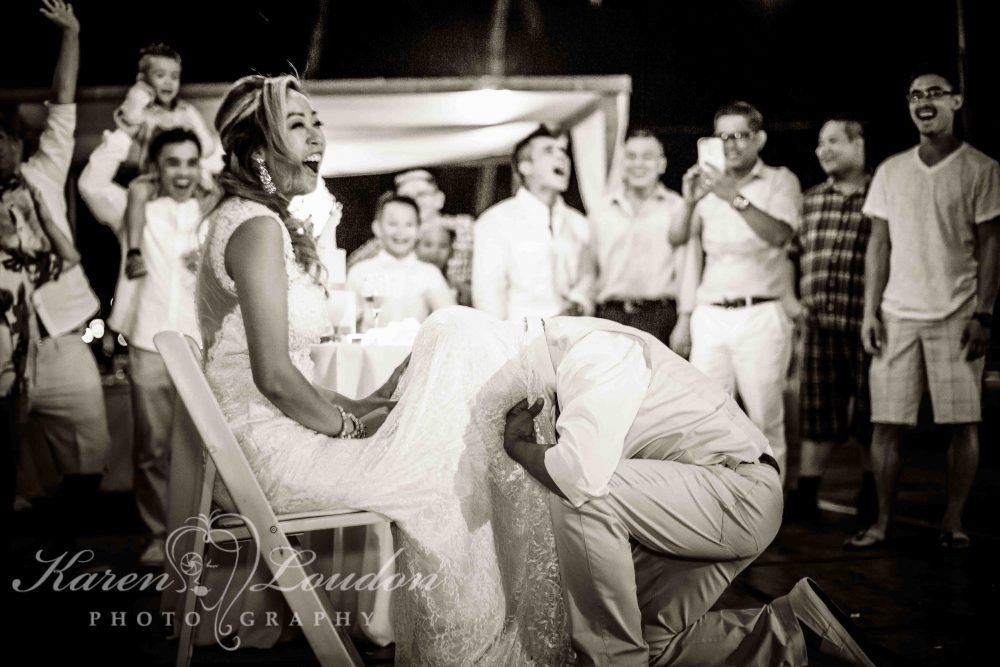 Fairmont Orchid wedding reception
