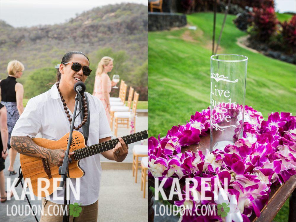Bula Akamu Hokulia Wedding Hawaii