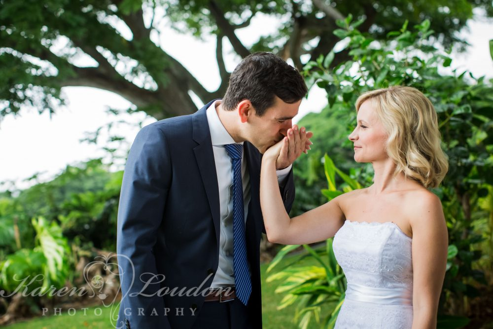 Kona Plantation Villa Wedding