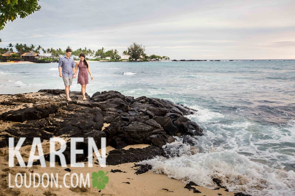Kailu-Kona engagement photograpy