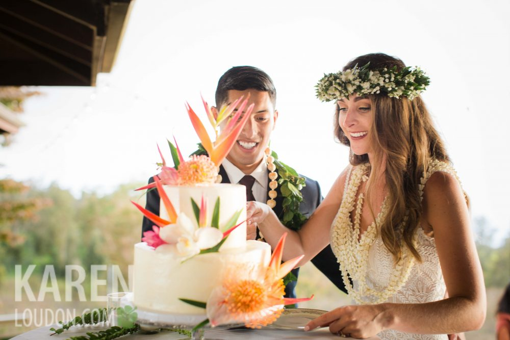 Hulualoa Wedding Cake