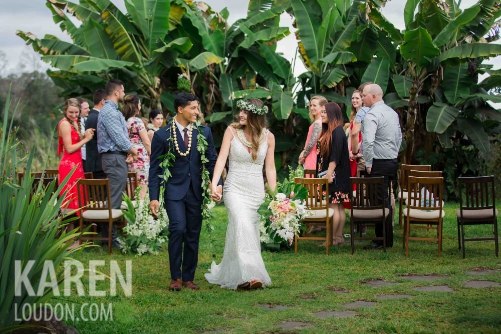 Holulaloa Farm Wedding