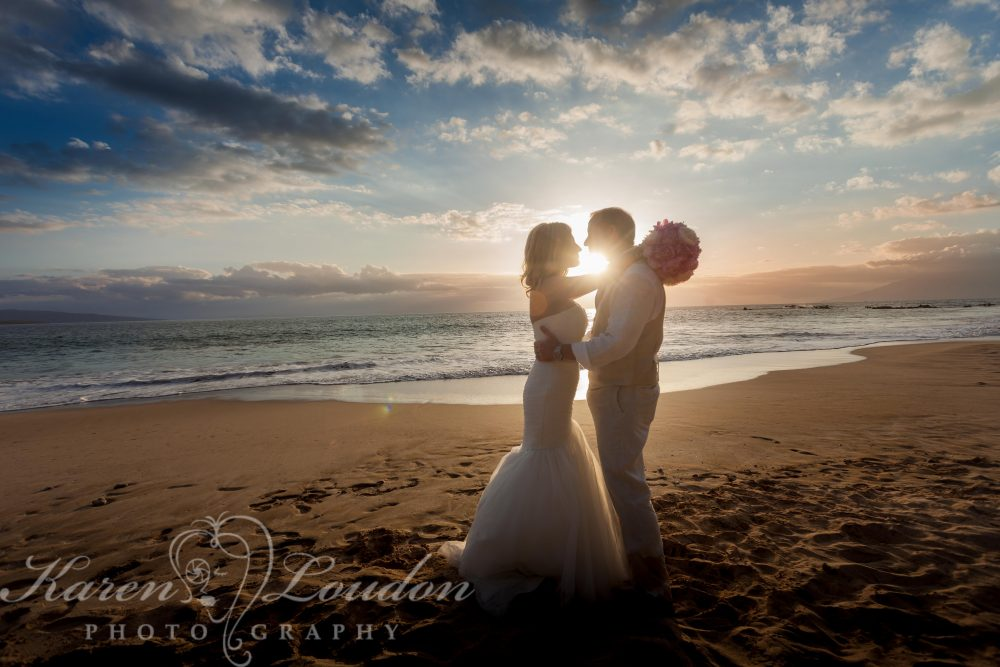 Palauea Beach wedding